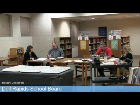 Dell Rapids School Board - 10/9/17