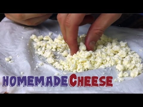 World's EASIEST Homemade CHEESE recipe (3 Ingredients!)