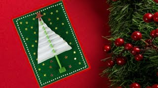 DIY Christmas Card Ideas | Christmas Crafts For Kids | Christmas Greeting Cards Easy