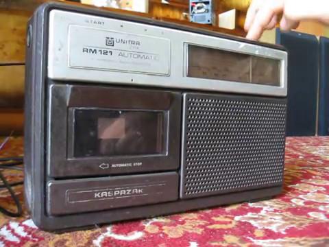 Unitra ZRK radio Kasprzak RM 121