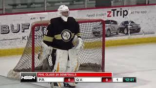 PIHL Penguins Cup Playoffs Class 2A Semifinals - Pine-Richland vs Quaker Valley