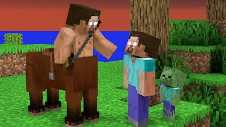 Monster School : Herobrine and Baby Zombie Adventure Story - Minecraft Animation