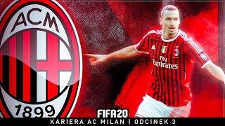 FIFA 20 - KARIERA AC MILAN | #03 - PRZEŁAMANIE ZLATANA!