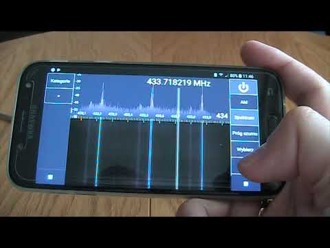 How to make radio scanner from smartphone with RTL-SDR DVB-T dongle