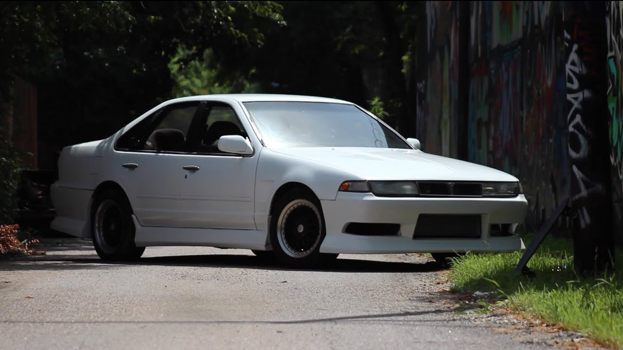 A31 Nissan Cefiro - RB25DET - YouTube