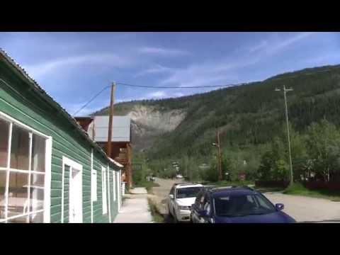 Checking out Dawson City, Yukon