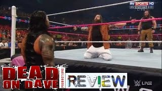 wwe raw 10 12 2015 live review another week of meh