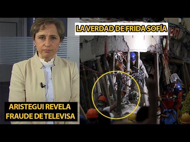 Carmen Aristegui TUMBA MONTAJE de TELEVISA y el caso de Frida Sofía | LA VERDAD