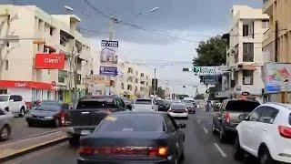 Driving In Santiago, Dominican Republic living in city part 1