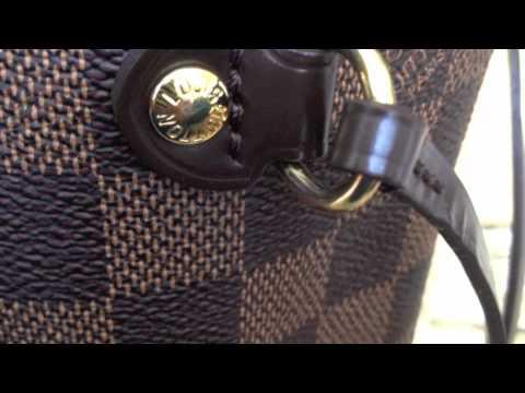 7d95633c5 Bolsa Louis Vuitton PM Damier - YouTube