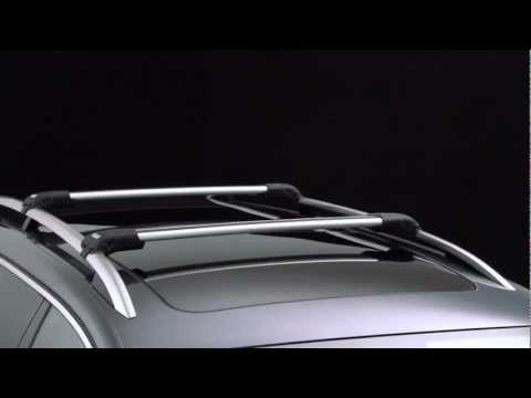 Thule Wing Bar Edge 9582B видео
