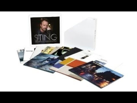 "Sting - Coffret ""The Complete Studio Collection"" / Sting - ""The Complete Studio Collection"" Boxset"