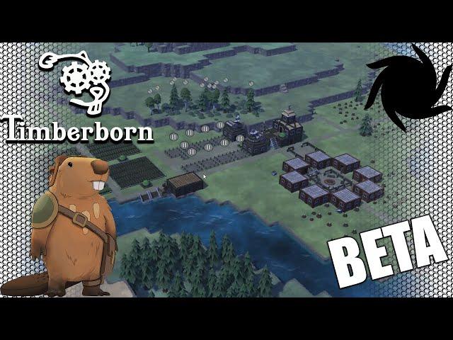 Timberborn Beta - Fancy Beavers - The Great Tree Shortage
