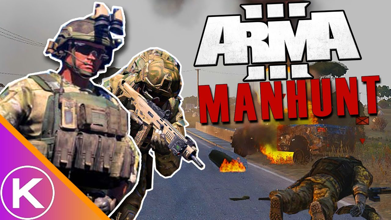 They're Hunting Me Down! (ARMA 3 MANHUNT)
