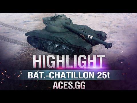 Барабанчик. Bat.-Châtillon 25 t в World of Tanks!