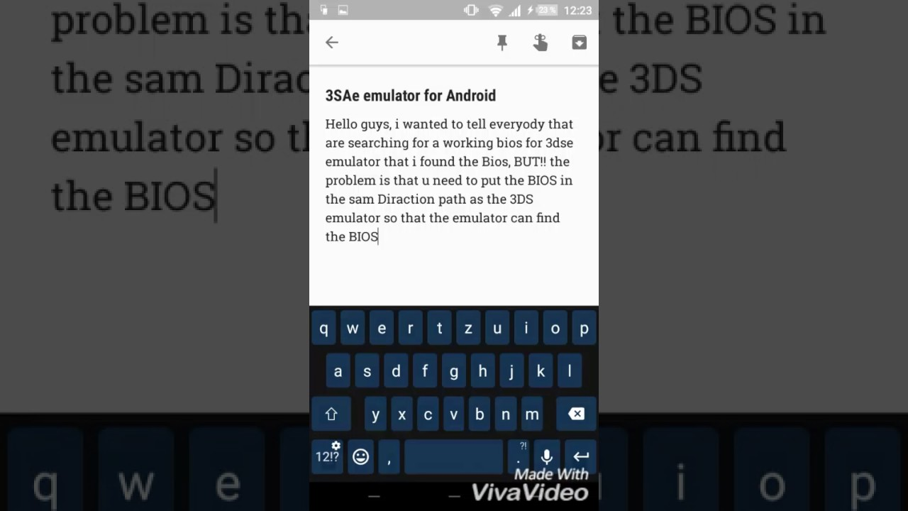 3dse emulator BIOS for Android