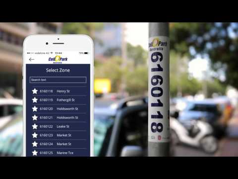 How to use CellOPark Pay-By-App Parking
