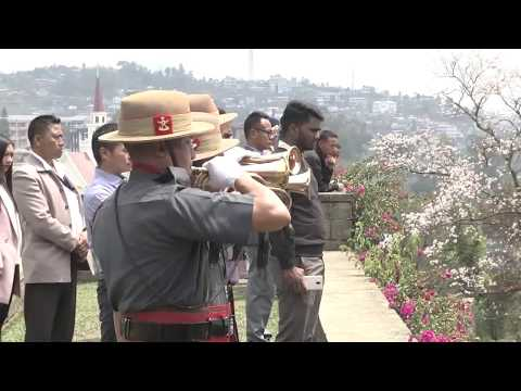 Kohima WW II Commemoration Ceremony On The 75th Anniversary Of The Battle Of Kohima