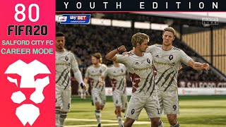 Fifa 20 Youth Academy Career Mode Ep 80 - THORS HAMMER!!! - Salford City - Youth Edition
