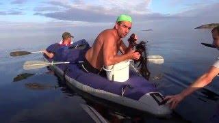 8 - я серия. Белое море - Лоухи. Последний день похода... travels