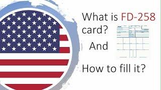 How to fill FD 258 Fingerprint card? | FBI FD 258 | Fingerprint for FBI clearance