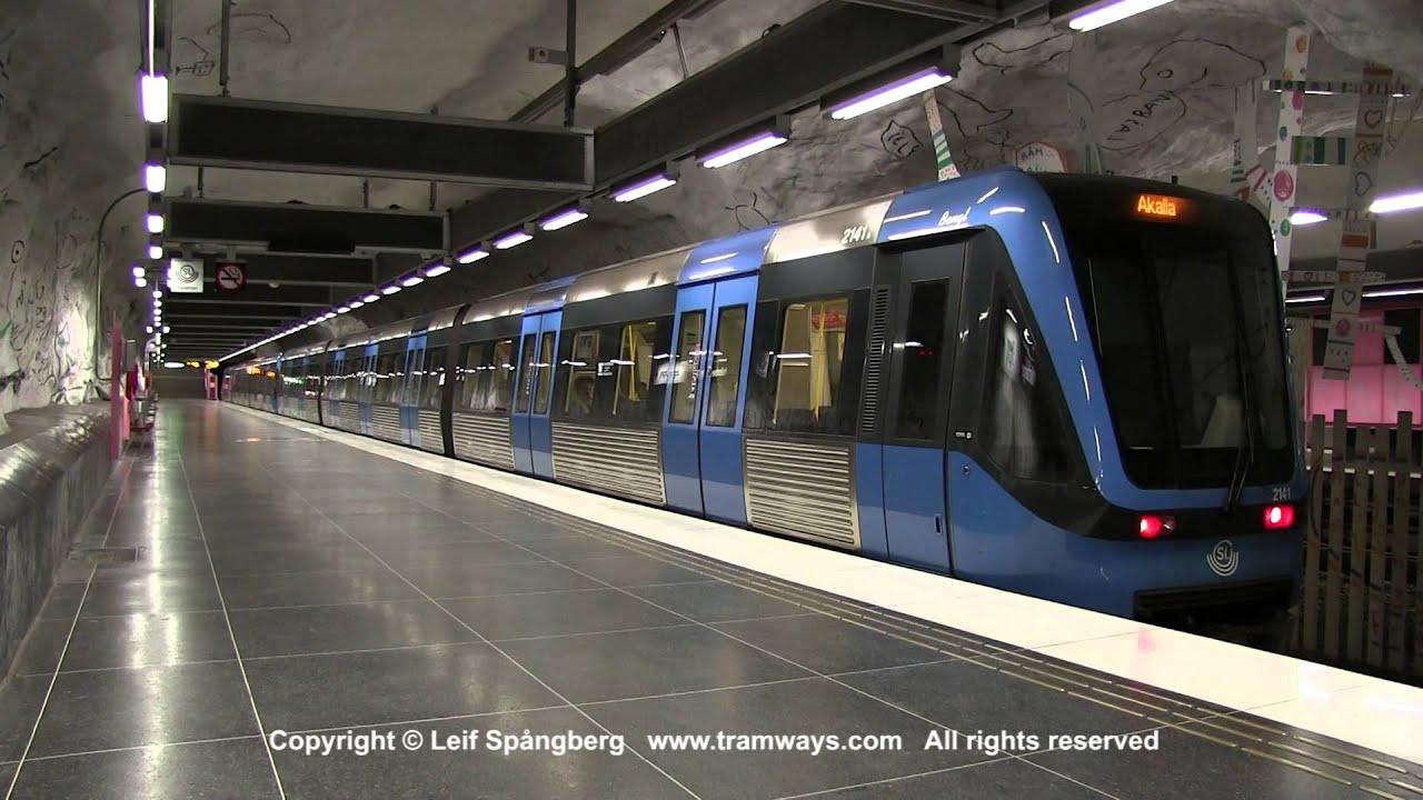 Tåg i stockholm
