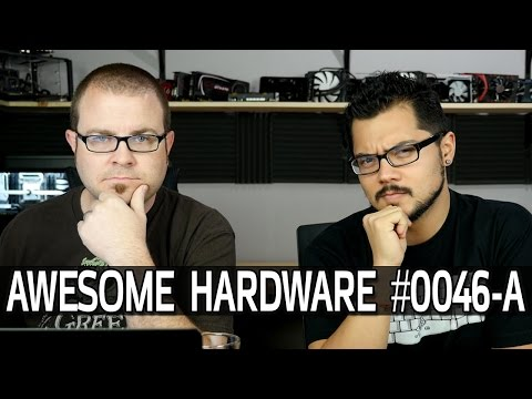 Awesome Hardware #0046-A: CES Recap, New AMD APU, HTC Vive Pre-order, FACE OFF