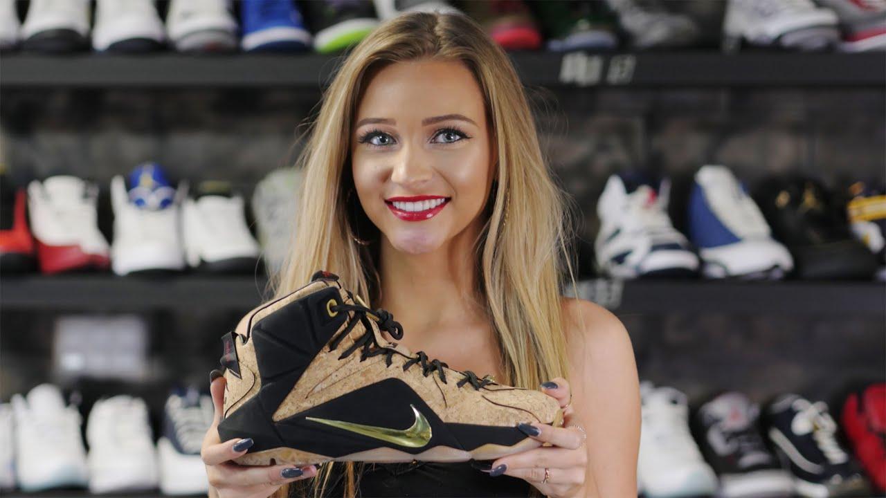 6616e6552ca Nike LeBron 12 Cork - Lexington Ave Review - YouTube