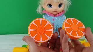Baby Alive Meyveleri Ve Sebzeleri Öğreniyor Eğitici Videolar