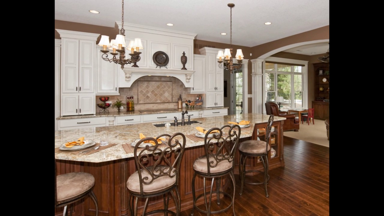 Amazing Kitchen Island Design With Stove And Sink - YouTube