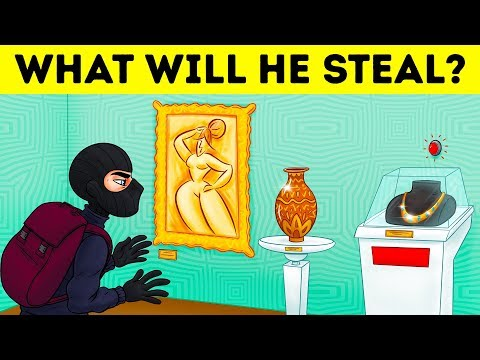 CRIME RIDDLES AND PICTURE PUZZLES TO BOOST YOUR LOGIC 🤓