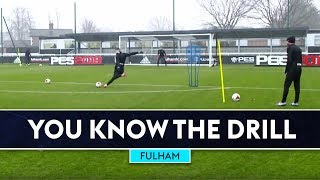 Two Touch Finishing | Tom Cairney & Ryan Sessegnon | Fulham | You Know The Drill