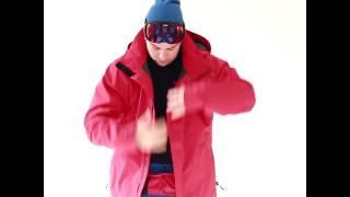 Cartel Baldface Mens Plus Size Ski Jacket Red