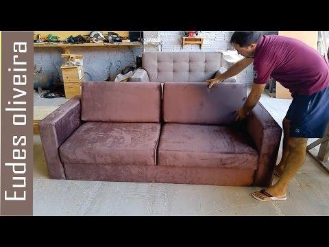 Reforma de sofá./