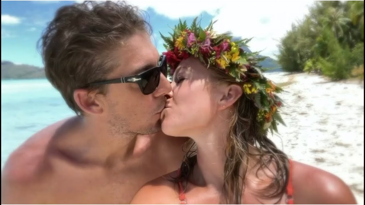 Bora Bora Baby Announcement - YouTube