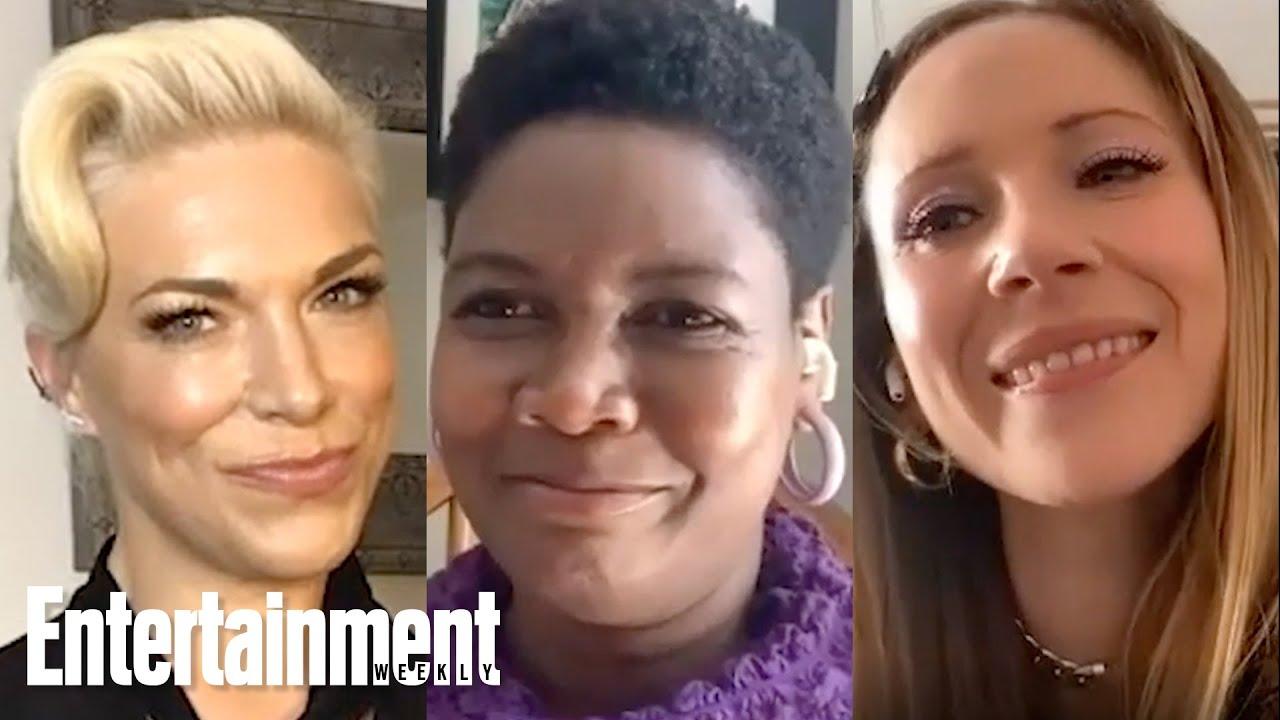 Juno Temple, Hannah Waddingham and Sarah Niles Talk 'Ted Lasso' Season 1 + 2