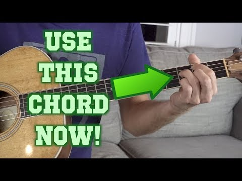 The Forgotten Guitar Chord You Aren't Using