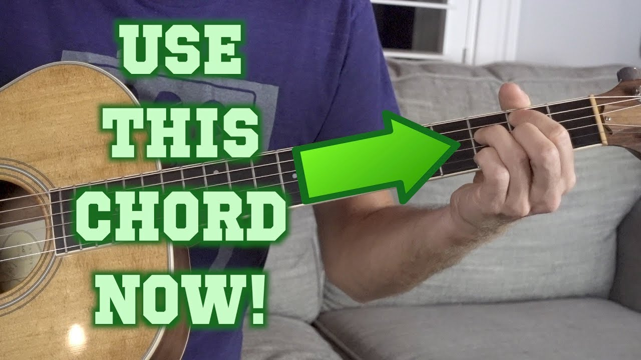 The Forgotten Guitar Chord You Arent Using Youtube