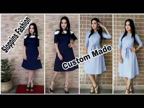Sloppins Fashion Online Custom Made Dresses Plus Size Dress