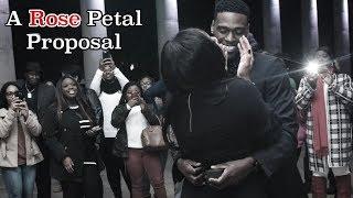 A Rose Petal Proposal - Darrione & Jarred