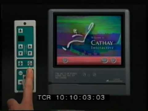 Cathay Pacific Interactive Trainer - Staff Training Video 1995