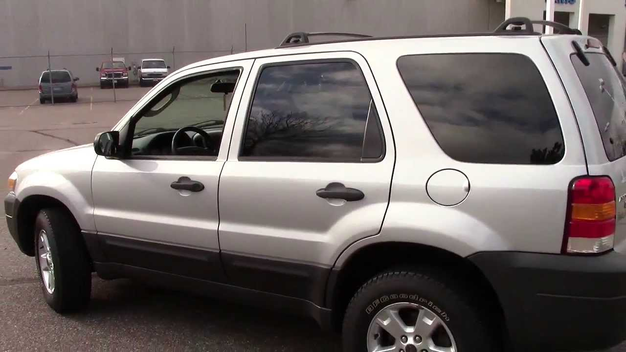 2007 Ford Escape 4wd Xlt Youtube