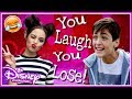 Try Not To Laugh challenge! Famous Disney Stars Trying To Be Funny On Musical.ly
