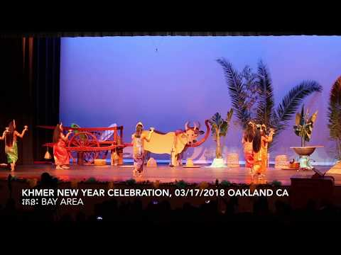 Khmer New Year celebrate 2018 at Oakland