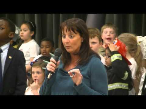 2016 03 31 Magruder Kindergarten patriotic Program part 1