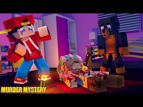 Minecraft MURDER MYSTERY?? - WHO KILLED LITTLE KELLY????