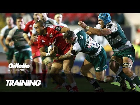 Rugby Strength and Conditioning with Munster's Simon Zebo | Gillette World Sport