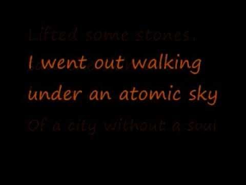 U2-The Wanderer (Lyrics)