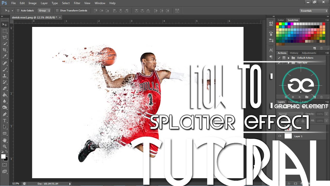 how to add effects to certain layers in photoshop cs6