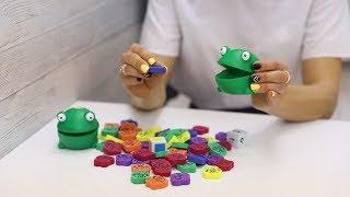 Игры с ребенком с 6 месяцев. Обзор набора игрушек от «Learning resources»